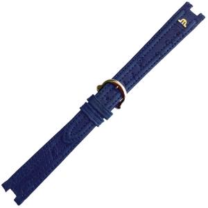Maurice Lacroix Calypso Horlogeband Struisvogel Blauw