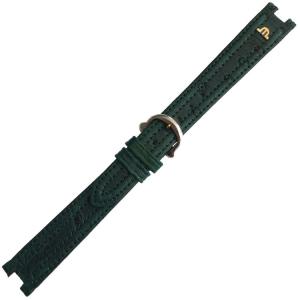 Maurice Lacroix Calypso Horlogeband Struisvogel Groen 14 mm