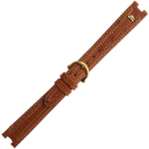 Maurice Lacroix Calypso Horlogeband Struisvogel Cognac