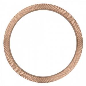 Marc Coblen / TW Steel Bezel 50mm Rosé Staal Gehamerd - MCB50RH