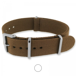 Brown NATO G10 Military Nylon Strap