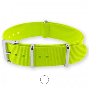 Fluo Yellow NATO G10 Military Nylon Strap