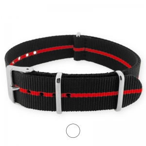 Skunk Red NATO G10 Military Nylon Strap