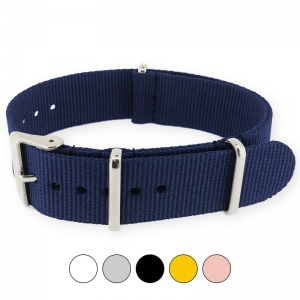 Navy Blue NATO G10 Military Nylon Strap