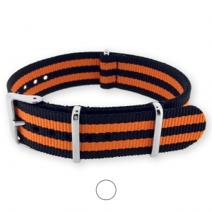 James Bond Orange NATO G10 Military Nylon Strap