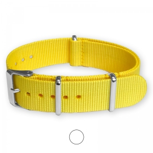 Yellow NATO G10 Military Nylon Strap