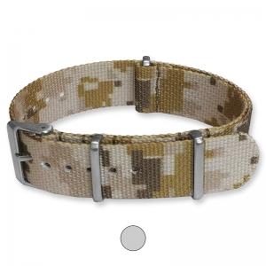 Camouflage Desert Premium NATO G10 Military Nylon Strap