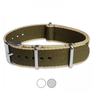 Army Green Sand Seatbelt NATO Deluxe Nylon Strap
