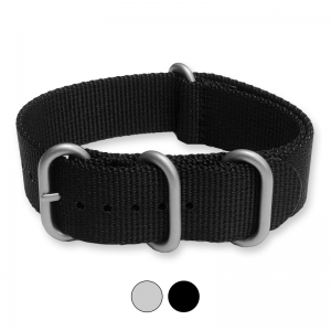 Black NATO Extreme Heavy Duty Nylon Strap