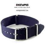 Navy Blue NATO G10 Military Nylon Strap - SS/PVD