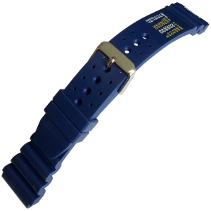 Duikhorlogeband type Citizen Promaster No Decompression Limits Blauw