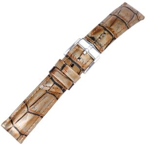 Hirsch Princess Pretiosa Horlogebandje Alligatorgrain Brons