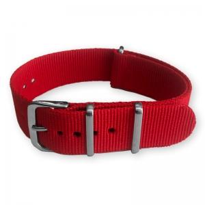 Rood NATO Horlogebandje Nylon