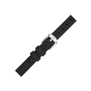 LLarsen / Lars Larsen Horlogeband Zwart Kalfsleer Leer - 12mm