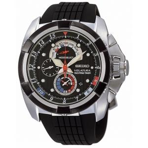 Seiko Velatura Horlogeband Zwart Rubber SPC007P1 SPC041P1 - 26mm