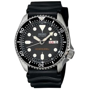 Seiko Z22 Horlogeband Zwart Rubber SKX007 - 22mm