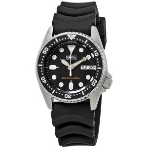 Seiko Z20 Duikhorloge Horlogeband Zwart Rubber - 20mm