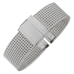 bandOh Mesh Milanaise Horlogebandje Fijn Geweven Staal