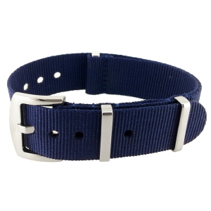 Navy Blue Superstrap Mega NATO Nylon Strap - SS/Matte