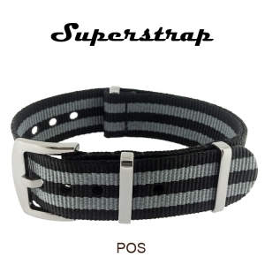 Superstrap MEGA NATO Nylon Strap James Bond - SS/Matte