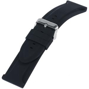 Silicone Rubberen Horlogeband Big Black