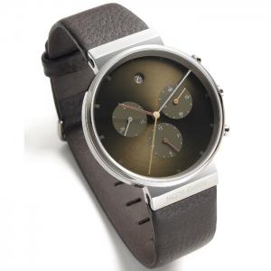 Jacob Jensen horlogeband 604 bruin leder 19mm