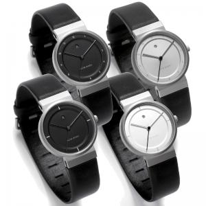 Jacob Jensen horlogeband 870, 871, 890, 891 leer 17mm