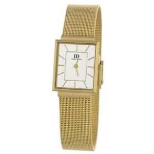 Horlogeband Danish Design IV05Q737 - mesh/milanaise goudkleurig geweven staal