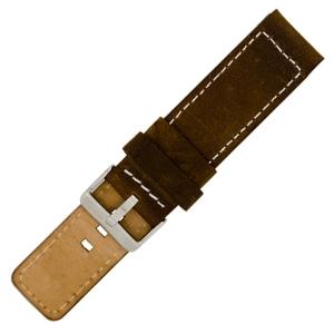 OOZOO Horlogebandje Bruin Leer