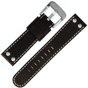 TW Steel Horlogebandje TW22, TW37, TW620, TW622 - Zwart 22mm