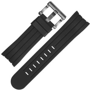 TW Steel Horlogebandje TW121, TW125, TW602, TW604, TW608 - Rubber 24mm