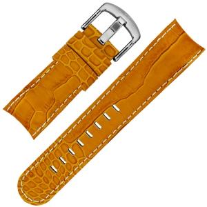 TW Steel Horlogebandje TW53 - Oranje Kroko Kalfsleer 24mm