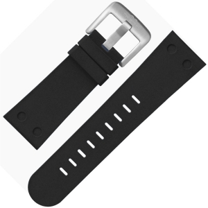 TW Steel Horlogebandje TWB581 Zwart Rubber 24mm