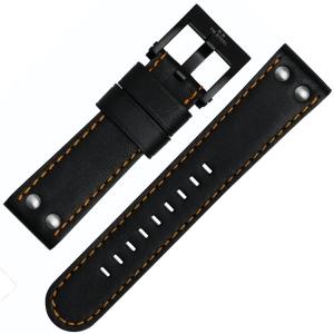 TW Steel Horlogebandje CE1027, CE1028, CE1029, CE1030 - Zwart 22mm