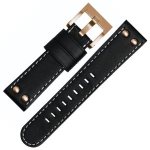 TW Steel Horlogebandje CE1021, CE1022, CE1023, CE1024 - Zwart 22mm