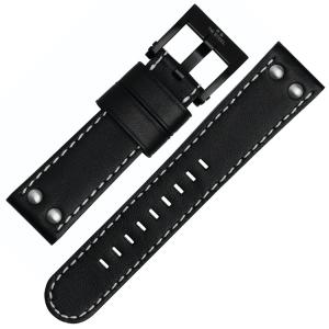 TW Steel Horlogebandje CE1031, CE1032, CE1033, CE1034 - Zwart 22mm