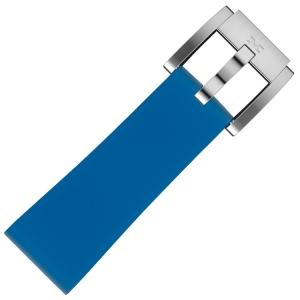 Silicone Horlogeband Monaco Blauw 22mm - Marc Coblen