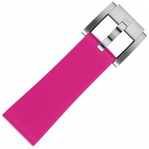 Silicone Horlogeband Roze 22mm - Marc Coblen