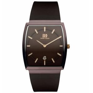 Horlogeband Danish Design IQ17Q900- donkerbruin leer