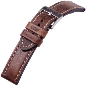 Glycine Horlogeband Vintage Zadelleer Bruin - LB7BF