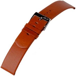 a.b.art Horlogeband serie D DL E EL ES Cognac Bruin 21, 26 en 30 mm