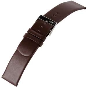 a.b.art Horlogeband serie D DL E EL ES Donkerbruin 21, 26 en 30 mm
