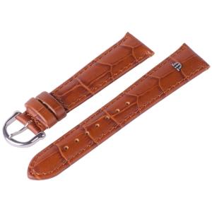 Maurice Lacroix Horlogeband Louisiana Kroko-Kalf Cognac 14, 15, 19 en 20 mm