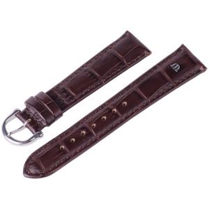 Maurice Lacroix Horlogeband Louisiana Kroko-Kalf Tabak 14, 15, 19 en 20 mm