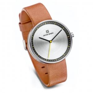 Jacob Jensen horlogeband Strata 281 Cognac Leer 16mm