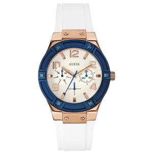 Guess Horlogebandje W0564L1 Rigor Wit Rubber