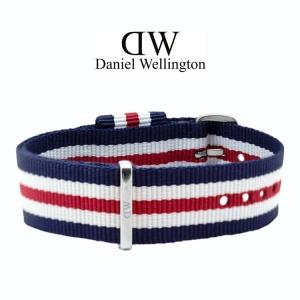 Daniel Wellington 18mm Classic Canterbury NATO Horlogebandje RVS Gesp