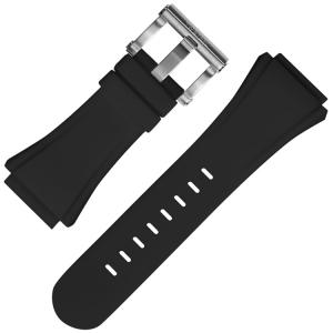 TW Steel Horlogebandje CE4016 CE5007 CE5009 Zwart Rubber 32mm