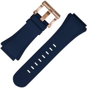TW Steel Horlogebandje CE5011 Blauw Rubber 32mm