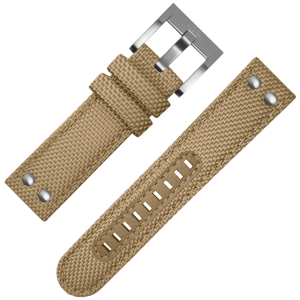 TW Steel Horlogebandje Khaki Canvas 22mm